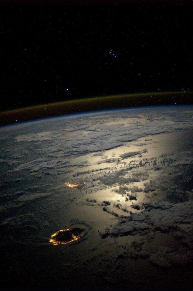 photo reunion et maurice depuis l espace